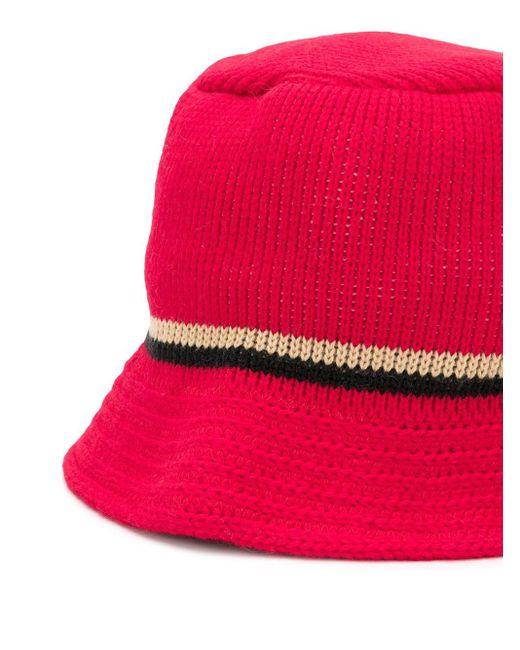 メンズ Gcds ロゴ バケットハット Red