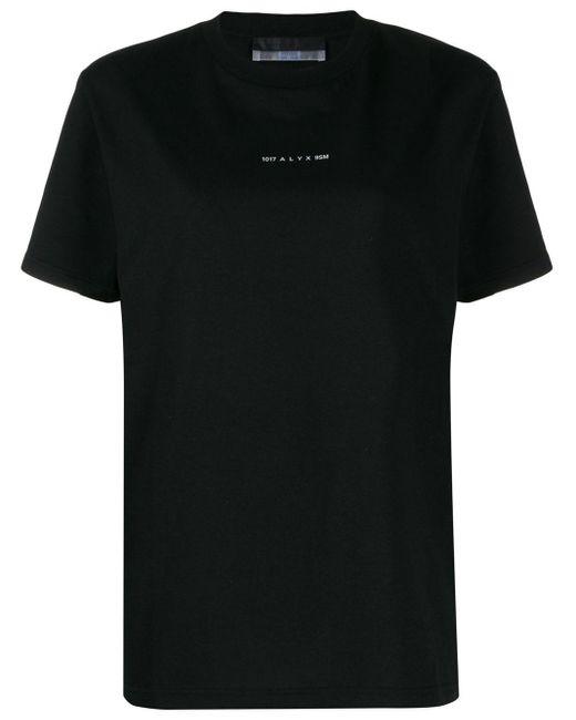 T-shirt Visual di 1017 ALYX 9SM in Black