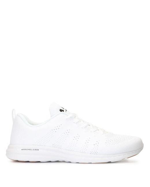 メンズ APL Shoes レースアップ スニーカー White