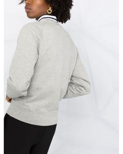 Maison Kitsuné ロゴ スウェットシャツ Gray