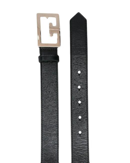 Givenchy ロゴバックル ベルト Black