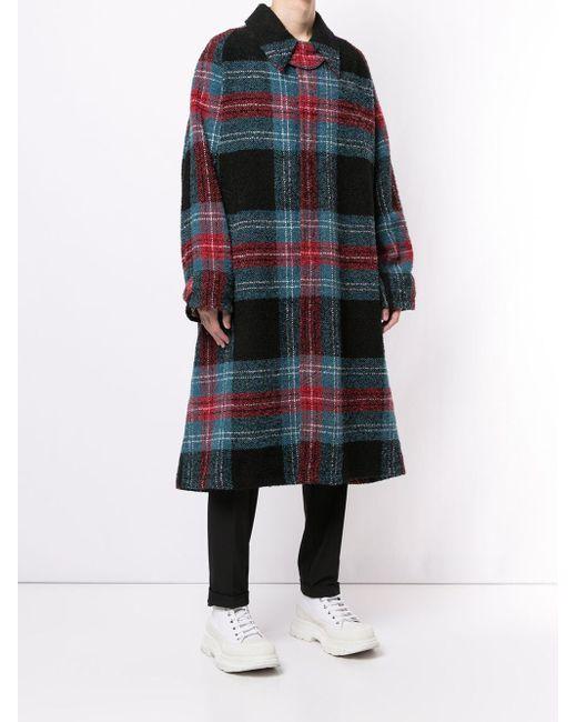 メンズ CHARLES JEFFREY LOVERBOY Doctor's Mac シングルコート Multicolor