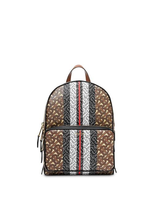 Burberry モノグラム バックパック Brown