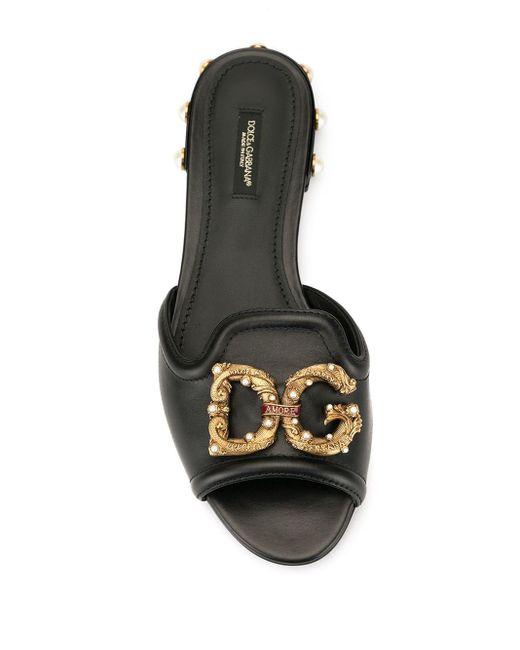 Dolce & Gabbana デコラティブ サンダル Multicolor