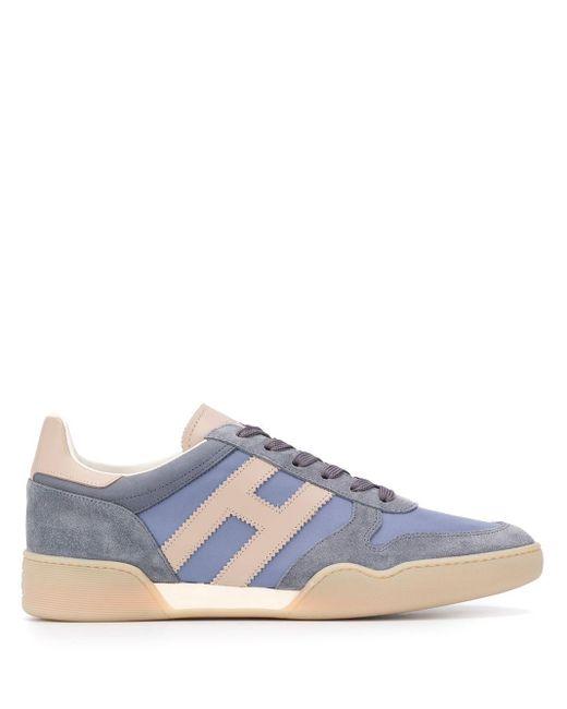 メンズ Hogan H357 スニーカー Blue