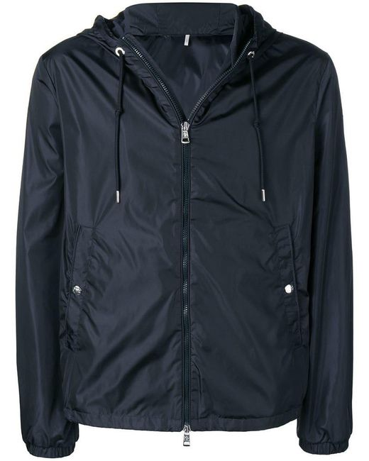 a59b4c37b Lyst - Moncler Grimpeurs Hooded Jacket in Blue for Men - Save 9%