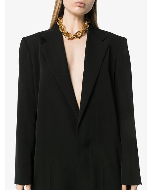 Bottega Veneta ウール ジャンプスーツ Black