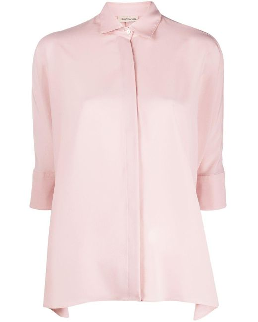 Blanca Vita Carlotta シャツ Pink