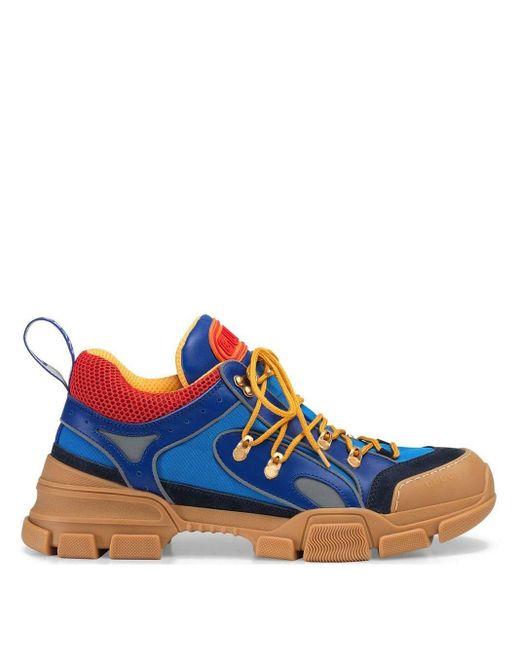 Sneaker Flashtrek uomo di Gucci in Blue da Uomo