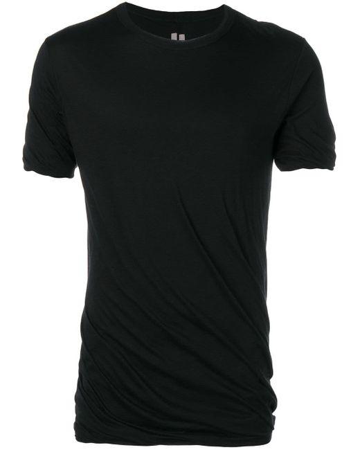 メンズ Rick Owens Sysyphus Tシャツ Black