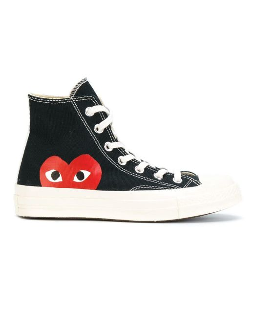 COMME DES GARÇONS PLAY Black All Star High-top Converse