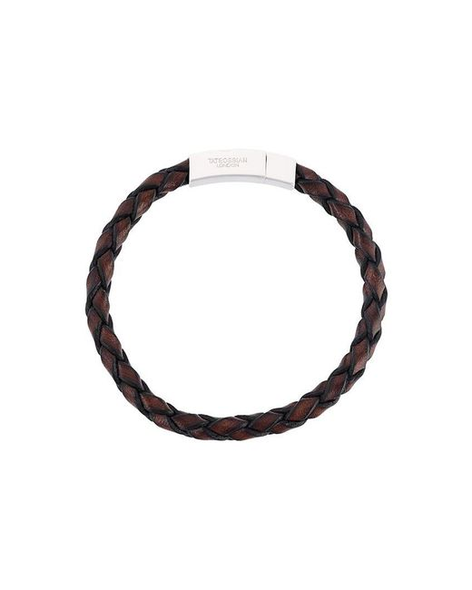 Tateossian | Brown Woven Bracelet for Men | Lyst