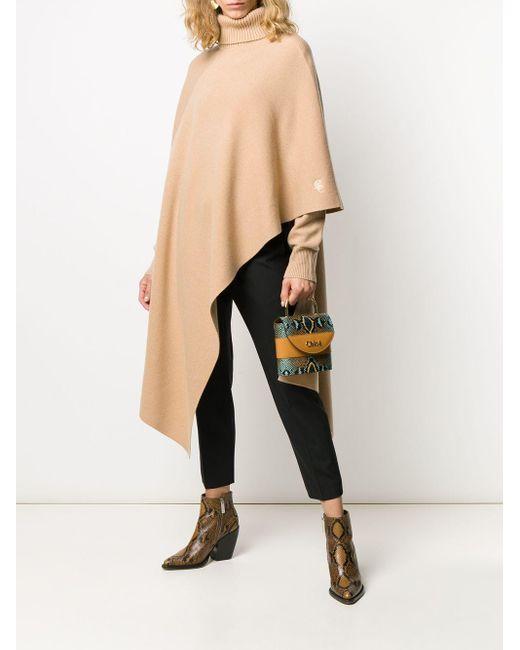 Chloé カシミア タートルネックセーター Multicolor