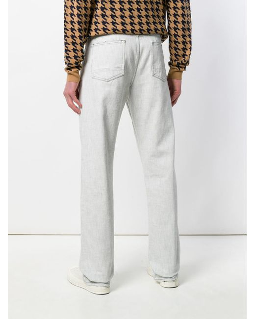 Natural Selection Gray Straight Leg Jeans for men
