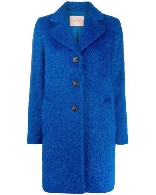 Twin Set シングルコート Blue