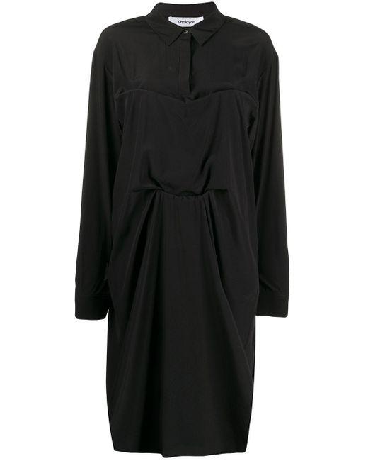 Chalayan シャツドレス Black