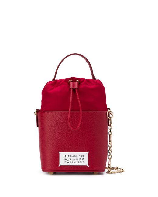 Maison Margiela 5ac バケットバッグ Red