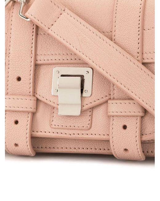 Сумка Через Плечо Ps1 Micro Proenza Schouler, цвет: Pink