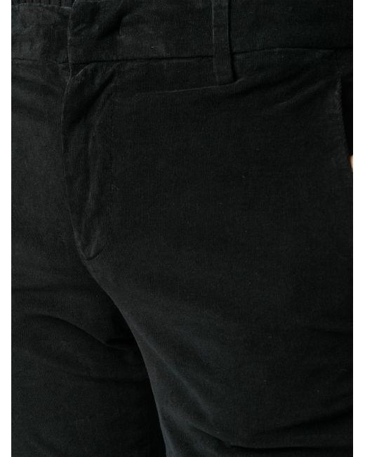 Dondup ベルベット フレアパンツ Black