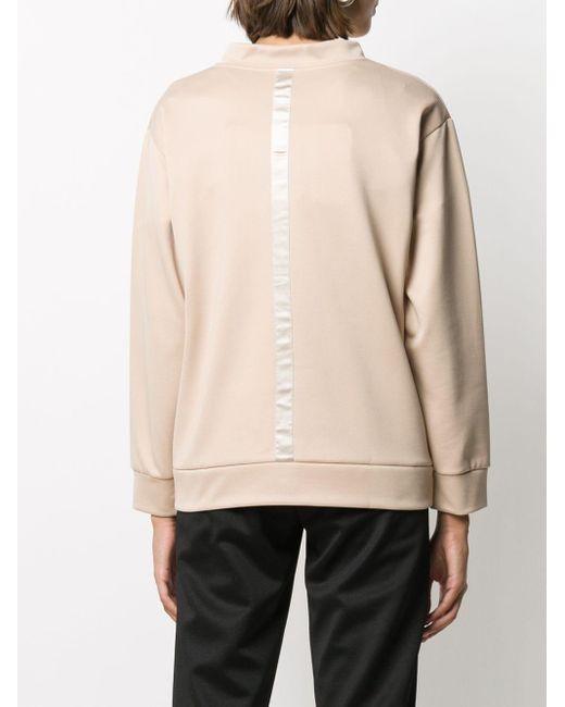 Peserico モックネック スウェットシャツ Natural