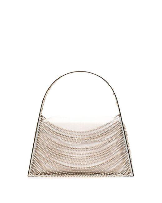 Benedetta Bruzziches Multicolor Gem-embellished Mini Bag