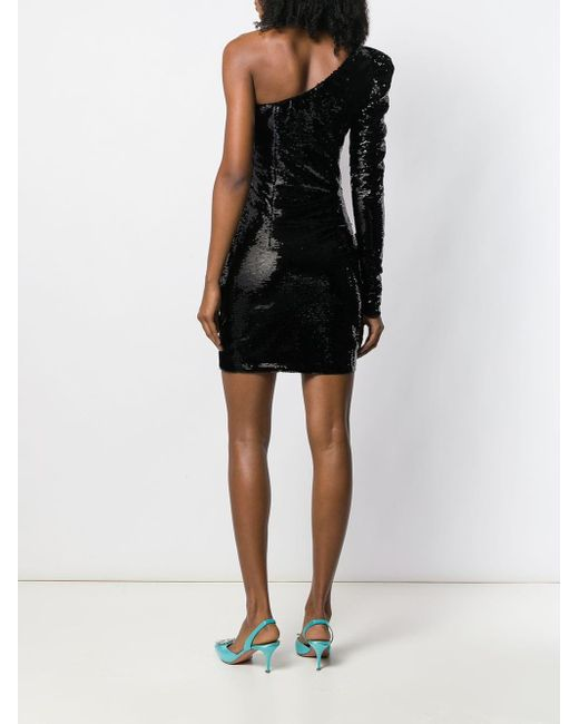 Amen スパンコール ドレス Black