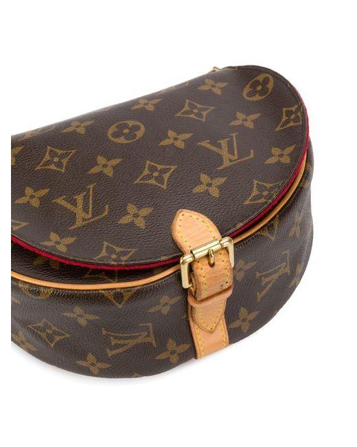 Сумка Через Плечо Tambourin 2005-го Года С Монограммой Louis Vuitton, цвет: Brown