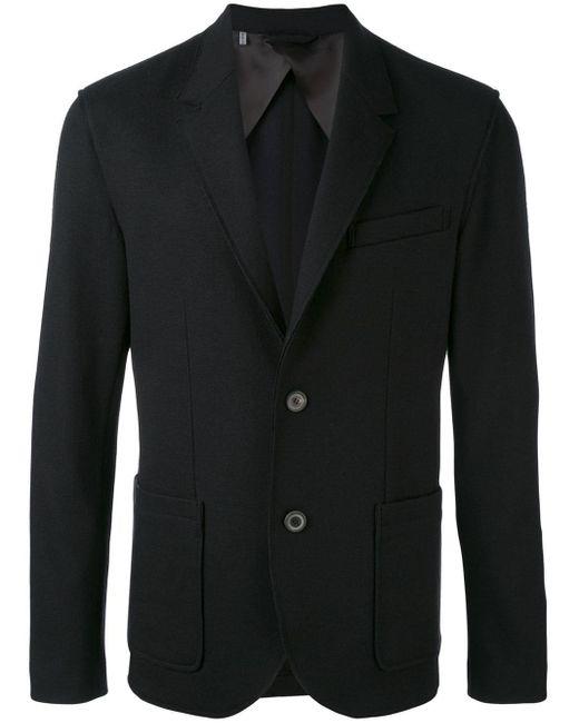 メンズ Lanvin ノッチドラペル ジャケット Black
