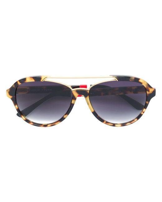 Orlebar Brown Multicolor X Linda Farrow Square Sunglasses for men