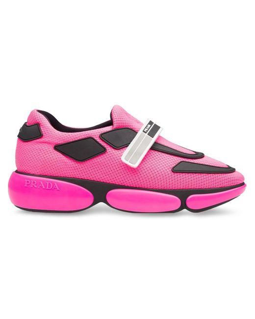 Prada クラウドバスト スニーカー Pink