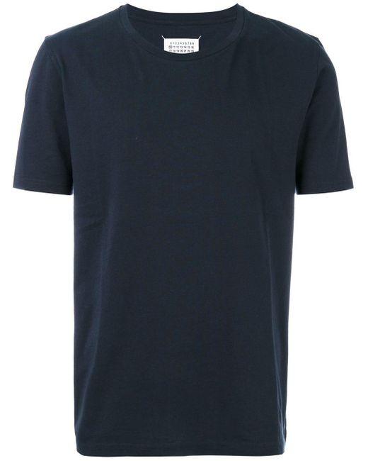 メンズ Maison Margiela ベーシックtシャツ Blue