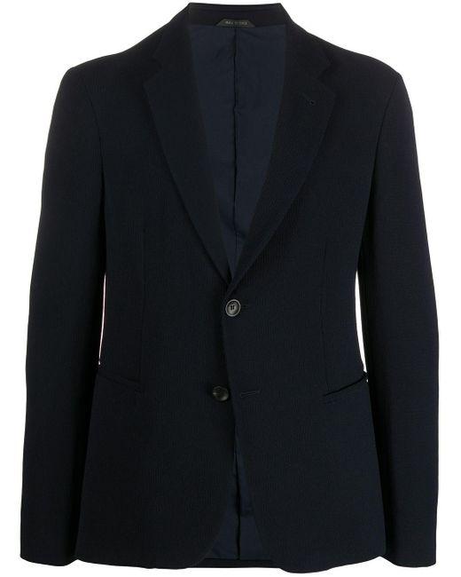 メンズ Giorgio Armani テーラードジャケット Blue