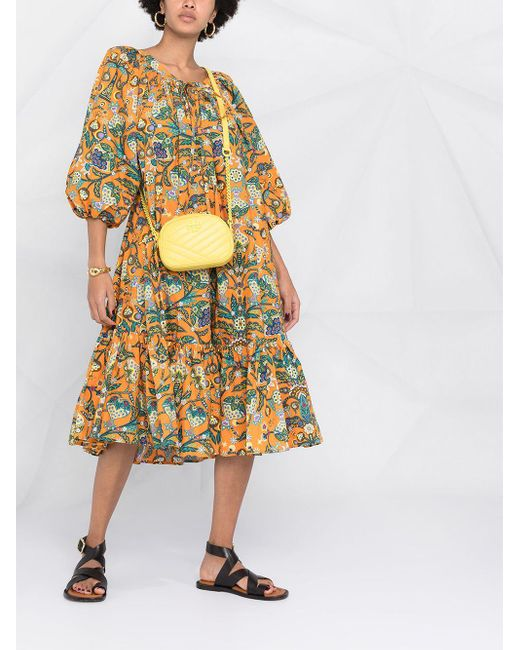 LaDoubleJ フローラル ドレス Multicolor