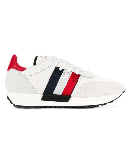 Zapatillas con logo Moncler de hombre de color White