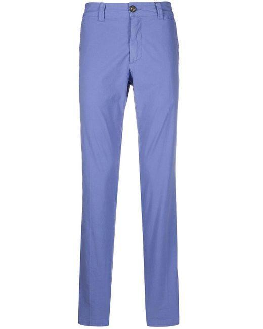 メンズ KENZO ロゴ チノパンツ Purple