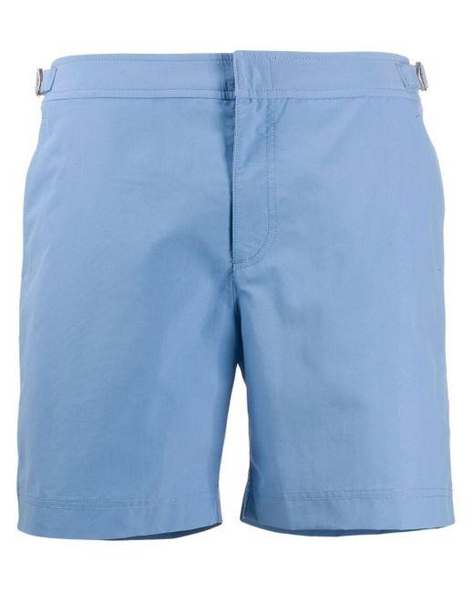 メンズ Orlebar Brown Bulldog トランクス水着 Blue