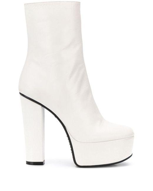 Givenchy プラットフォーム ブーツ White