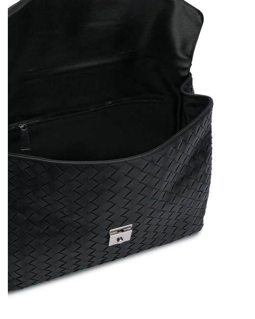 Портфель С Плетением Intrecciato Bottega Veneta для него, цвет: Black