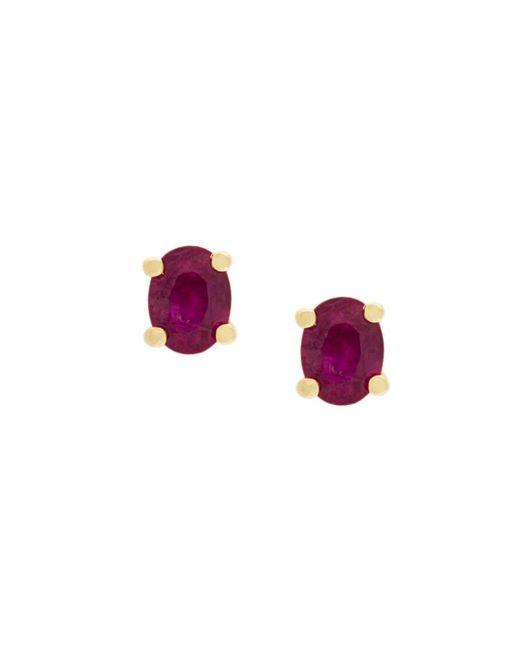 """Boucles d'oreilles """"Ruby"""" en or 18 carats et rubis Wouters & Hendrix en coloris Pink"""