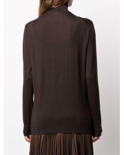Джемпер С Высоким Воротником Dolce & Gabbana, цвет: Brown