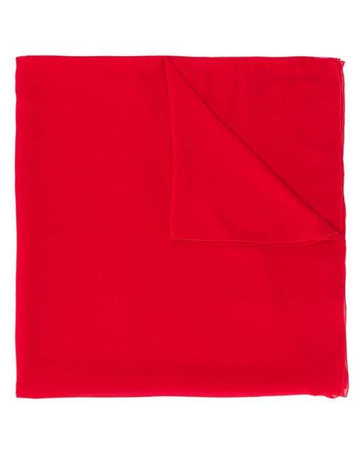 Blumarine ビジュー スカーフ Red
