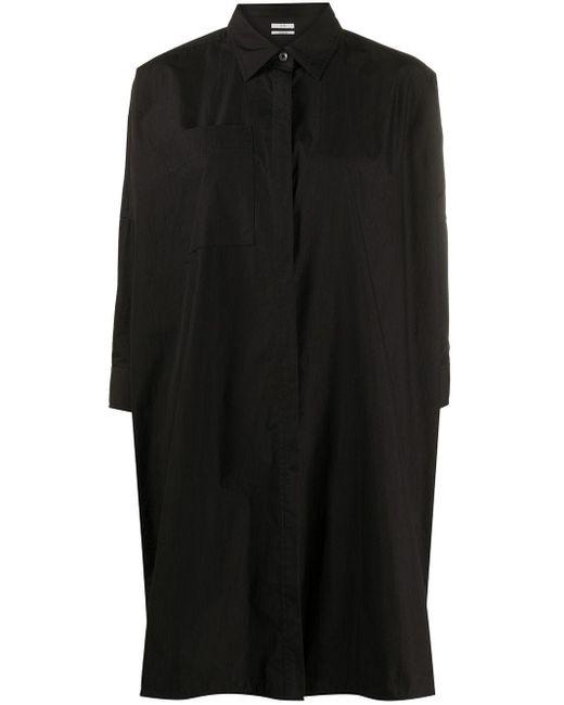 Co. パッチポケット シャツ Black
