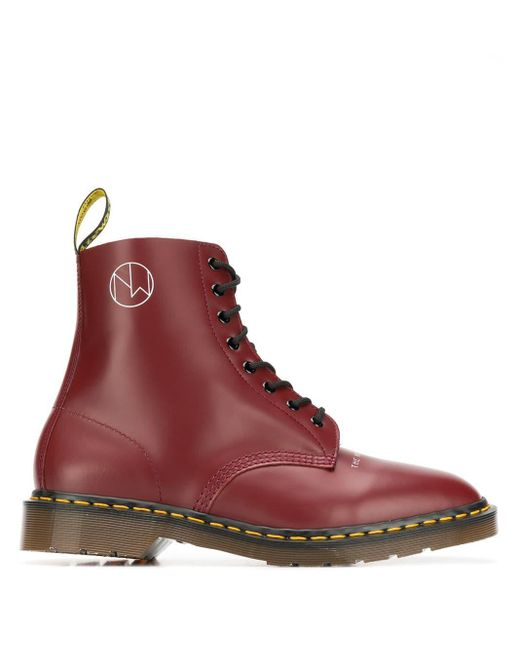 Dr. Martens New Warriors ブーツ Red