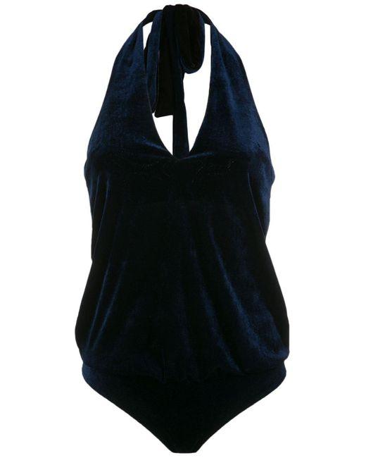 Бархатный Слитный Купальник Adriana Degreas, цвет: Black
