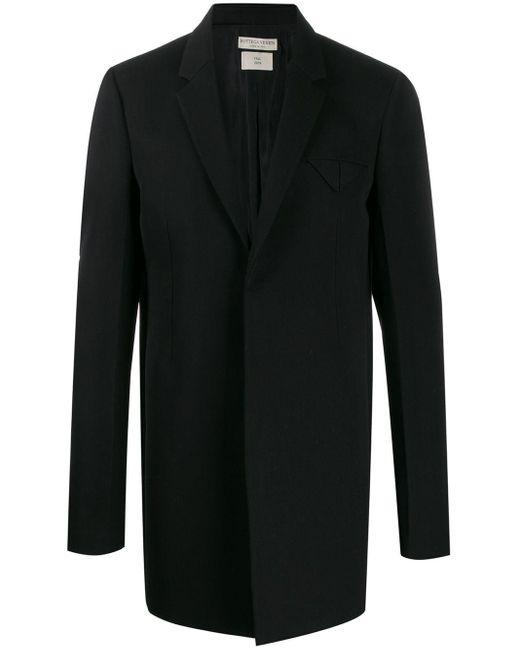 メンズ Bottega Veneta テーラード コート Black