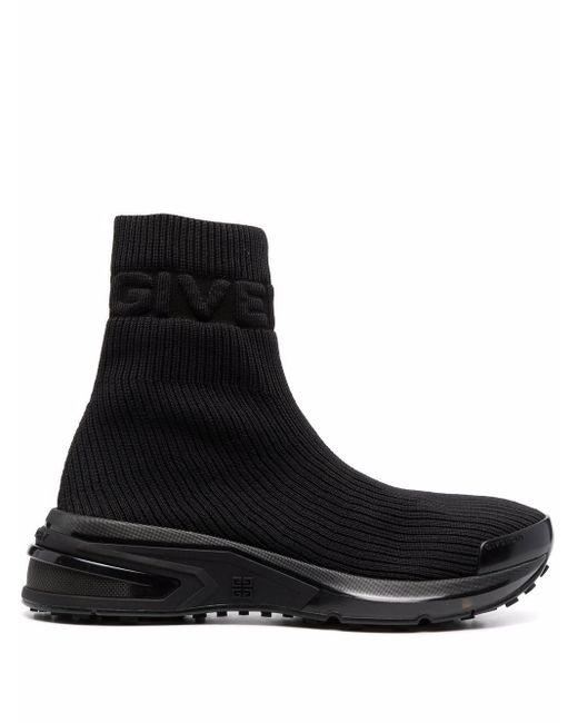 Кроссовки-носки С Тисненым Логотипом Givenchy, цвет: Black