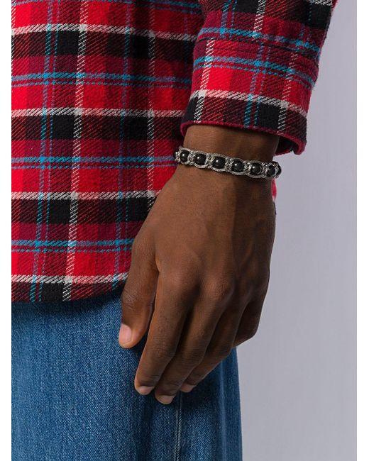 Beaded Chain Bracelet Emanuele Bicocchi, цвет: Multicolor