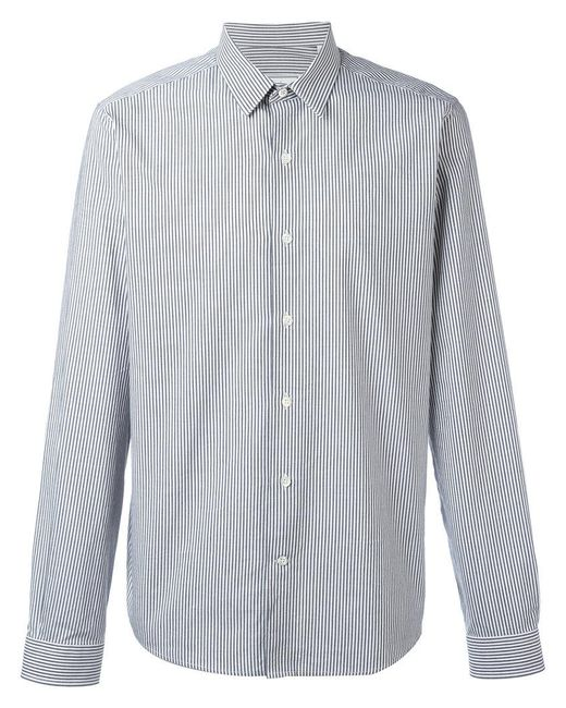 AMI | Gray Classic Collar Shirt for Men | Lyst