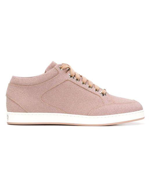 Miami sneakers Jimmy Choo en coloris Pink