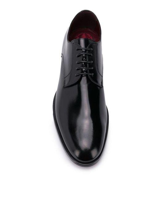 Классические Дерби Dolce & Gabbana для него, цвет: Black